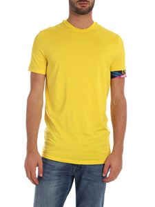 Dsquared2 - Yellow T-shirt with branded elastic band