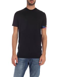 Dsquared2 - Black t-shirt with branded elastic band
