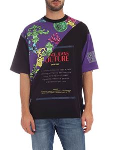 Versace - Versace Jeans Couture T-shirt in  black and purple