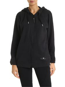 Adidas by Stella McCartney - Ess black sweatshirt with hood