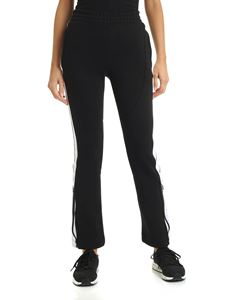 Adidas by Stella McCartney - Track Pant black trousers with logo bands
