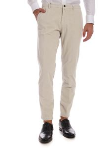 Briglia 1949 - Corduroy trousers in ivory color