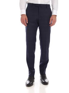 Briglia 1949 - Blue prince of Wales pattern trousers