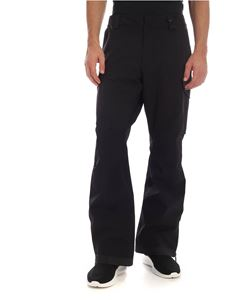 Moncler Grenoble - Technical fabric pants in black