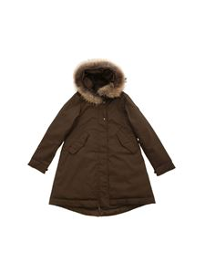 Woolrich - Cascade parka in Army green color