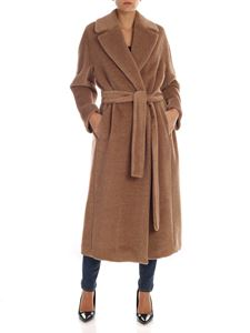 S Max Mara - Elvy coat in camel color