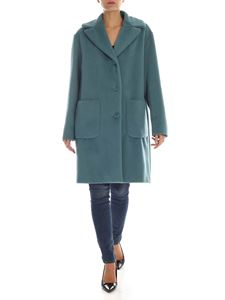 Max Mara Weekend - Oliveto coat in Air Force blue color