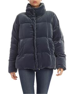 Max Mara Weekend - Zeus down jacket in Air Force blue color