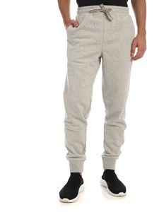 Fila - Visconti sweatpants in melange light grey