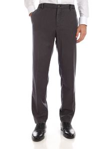 MYTHS - Trousers in gray with elastic drawstring