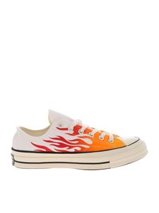 Converse - Sneakers Chuck 70 Archive Print Low Top bianche
