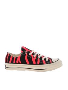 Converse - Sneakers Chuck 70 Archive Print Low Top nere