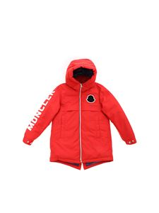 Moncler Jr - Airon down jacket in red