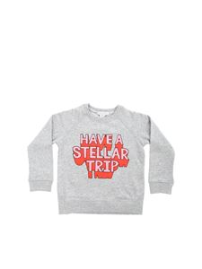 Stella McCartney Kids - Felpa Have A Stellar Trip grigia