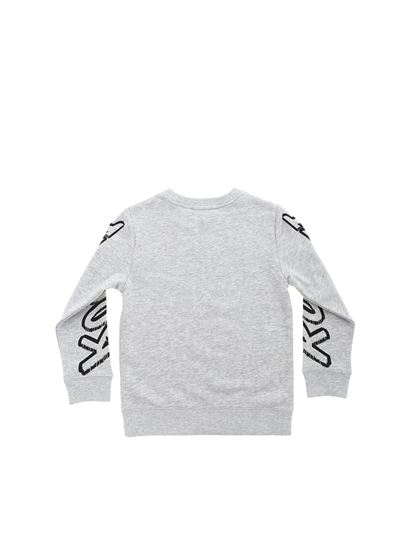 Stella McCartney Kids - Grey sweatshirt with Shuttle print