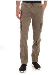 Jacob Cohën - Army green trousers with logo label