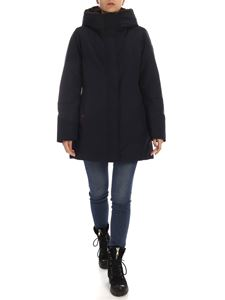 Woolrich - Boulder parka coat in dark blue color