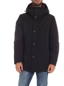 Woolrich - Boundry Parka coat in black