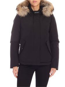 Woolrich - Short Arctic Parka down jacket in black