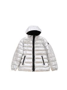 Moose Knuckles - Osler down jacket in silver metallic color