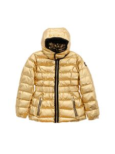 Moose Knuckles - Domremy Jacke down jacket in golden metallic edges