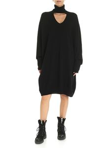 Diesel - M-Lilia turtleneck dress in black
