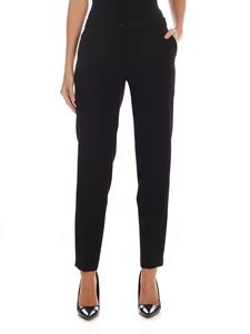 Gaelle Paris - Black trousers with sartorial fold