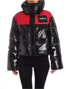 Gaelle Paris - Black down jacket with branded patch