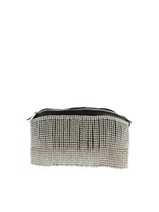 Gaelle Paris - Jewel fringes belt bag in black