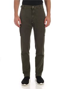 Jacob Cohën - Green cargo trousers with pockets