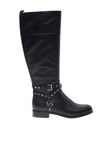 Michael Kors - Preston studded boots in black