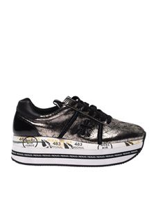 Premiata - Beth sneakers in laminated grey