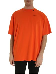 Off-White - T-shirt Abstract Arrows arancione