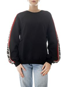 MSGM - Knit MSGM bands sweatshirt in black