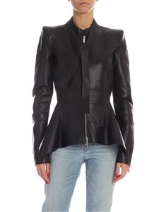 Dsquared2 - Irregular bottom jacket in black