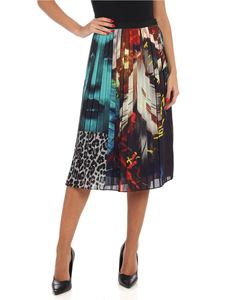 Paul Smith - Patchwork New Masters pleated skirt