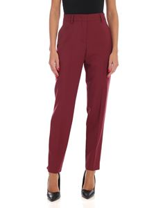 Paul Smith - Sartorial pleat trousers in wine color