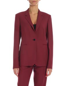 Paul Smith - Single button jacket in wine color