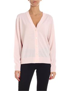 Paul Smith - Artist Stripe logo cardigan in pink