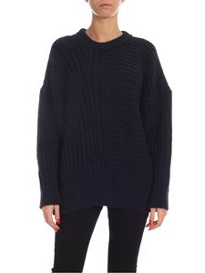 Paul Smith - Dropped shoulder pullover in blue