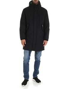 Paul Smith - Padded parka in blue
