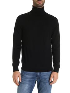 Paul Smith - Multicolor inlays black turtleneck