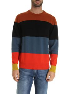 Paul Smith - Pure cashmere striped pullover