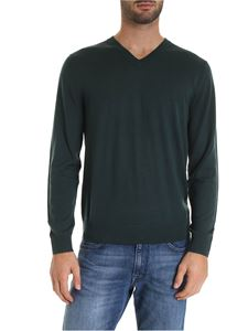 Paul Smith - V-neck pullover in green
