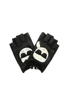 Karl Lagerfeld - Karl Ikonic gloves in black