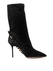 Aquazzura - All Mine booties in black