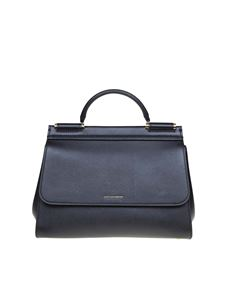 Dolce & Gabbana - Sicily Soft medium bag in black