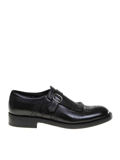 Doucal's - Fringed loafers in black