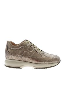 Hogan - Sneakers Interactive color oro