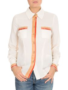 Elisabetta Franchi - White shirt with contrasting details